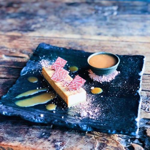 Miso Caramel Cheesecake